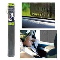 2pk STATIC WINDOW SUN SHADES BLOCK KIDS BABY UV GLARE CAR SUNSHADE